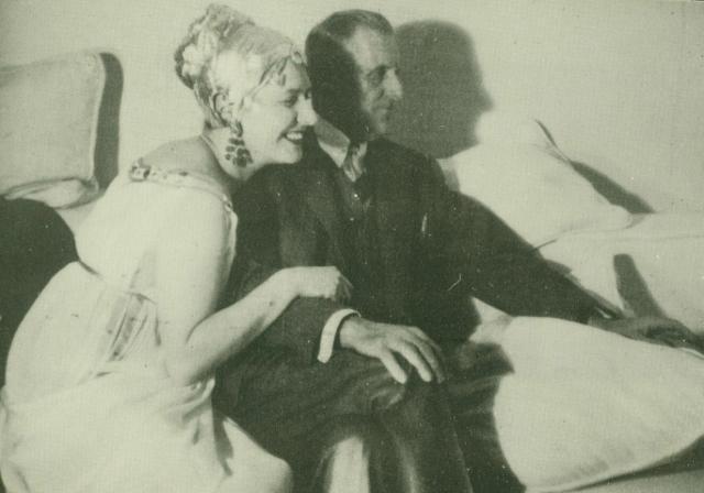 Slobodkina with William Urquhart