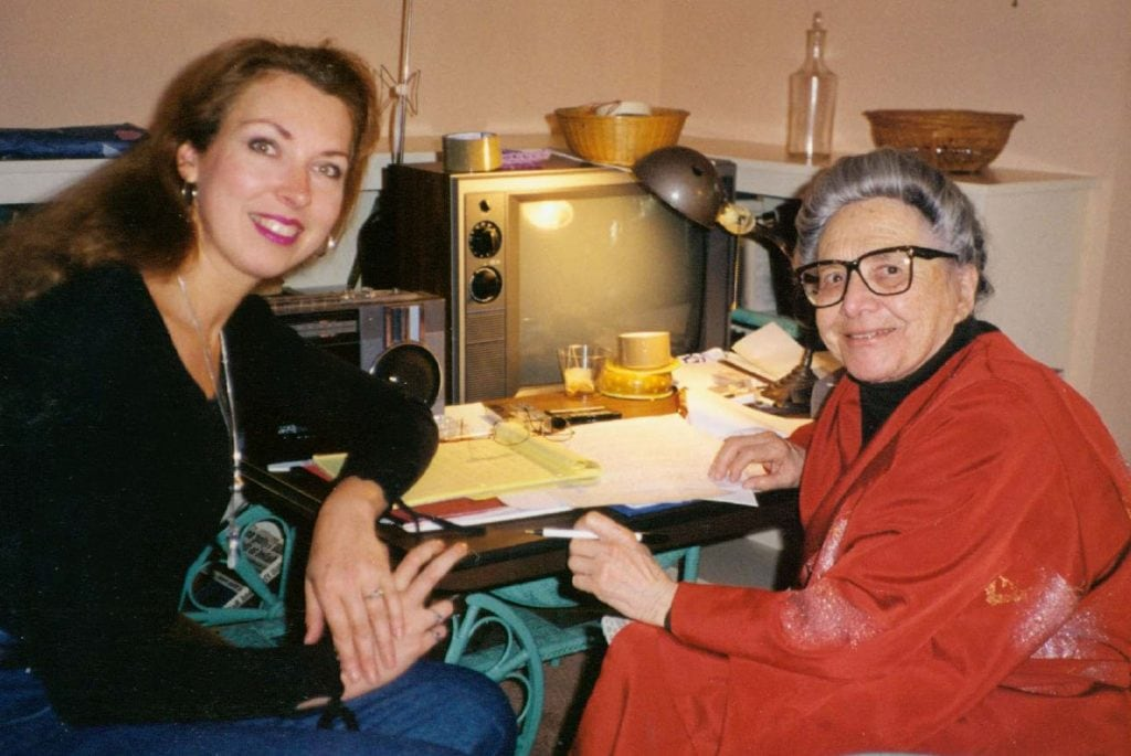 Ann Marie and Esphyr, 1997