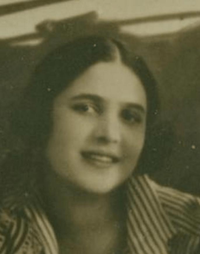 Esphyr Slobodkina, age 19.