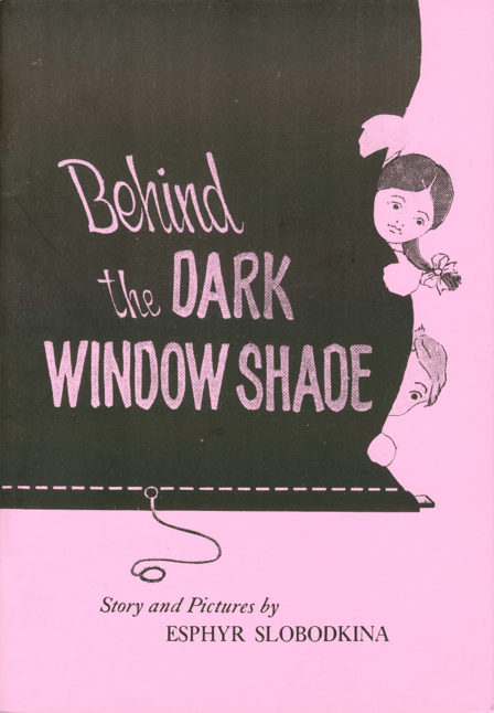 Behind The Dark Window Shade