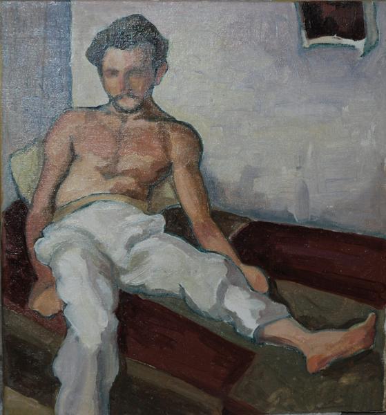 Ilya painting
