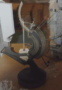 Sculpture Typewriter Bird